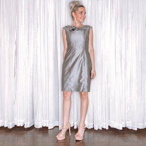 Calvin Klein Dresses - Calvin Klein Classy Grey Silver Dress